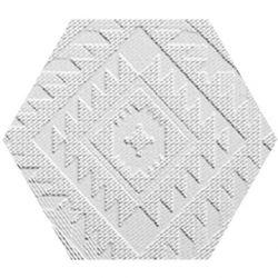 41zero42 Clay41 Esagona Navajo White 22,5x19,5