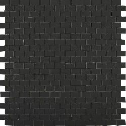 41zero42 Clay41 Mosaic Bricky Black 30x30