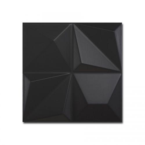 DUNE Megalos Ceramics Shapes Multishapes Black 25,0x25,0 [039897]