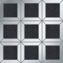 Tubądzin By Maciej Zień LUCID - Lucid Square Black 26,9x23,0