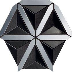Tubądzin By Maciej Zień LUCID - Lucid Black 20,5x18,6