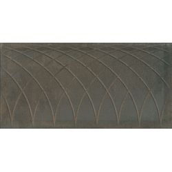 Atlantic Tiles ( Saloni ) Serra Curves Brown 45x90
