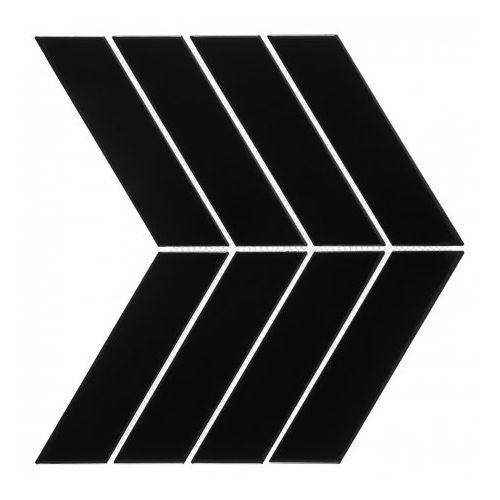 DUNIN ROYAL CHEVRON BLACK 31,5x22 Jodełka