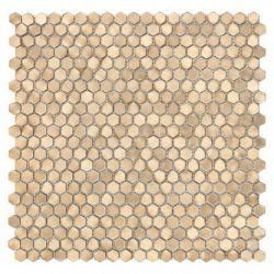 DUNIN ALLUMI GOLD HEXAGON 14 30x30
