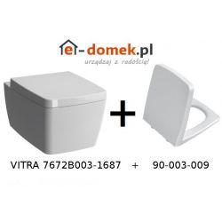 Vitra Metropole RIM-EX Miska Wisząca WC z Funkcją Bidetu + Deska Wolnoopadająca