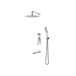 Vedo System wannowo-natryskowy podtynkowy I DESSO / Nr KAT: VBD4231 deszczownica o śr. 200mm