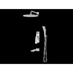 Vedo System wannowo-natryskowy podtynkowy I DESSO / Nr KAT: VBD4231 deszczownica o śr. 250mm