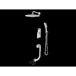 Vedo System wannowo-natryskowy podtynkowy II DESSO / Nr KAT: VBD4232 deszczownica o śr. 250mm