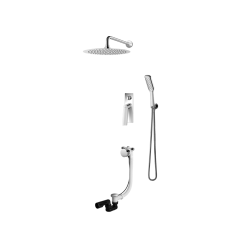 Vedo System wannowo-natryskowy podtynkowy II DESSO / Nr KAT: VBD4232 deszczownica o śr. 300mm