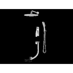Vedo System wannowo-natryskowy podtynkowy III DESSO / Nr KAT: VBD4233 deszczownica o śr. 300mm