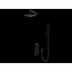 Vedo System natryskowy podtynkowy IV DESSO NERO / Nr KAT: VBD4224CZ deszczownica o śr. 300mm