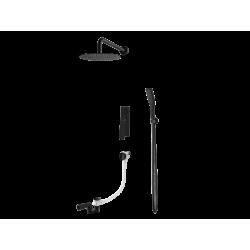 Vedo System wannowo-natryskowy podtynkowy III DESSO / Nr KAT: VBD4233CZ deszczownica o śr. 300mm