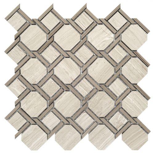 DUNIN Woodstone Grey Nodum 28,0x28,0x1,0