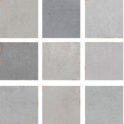 WOW Zellige Grey 12,5x12,5