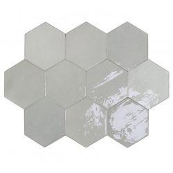 WOW Zellige Hexa Grey 10,8x12,4
