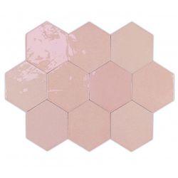 WOW Zellige Hexa Pink 10,8x12,4