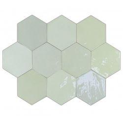 WOW Zellige Hexa Mint 10,8x12,4
