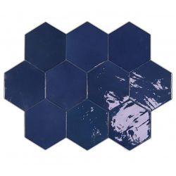 WOW Zellige Hexa Cobalt 10,8x12,4