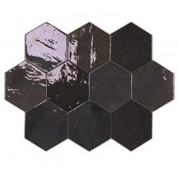 WOW Zellige Hexa Graphite 10,8x12,4