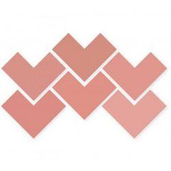 WOW Elle Floor Coral 18,5x18,5