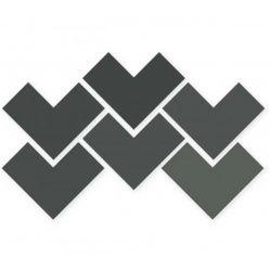 WOW Elle Floor Graphite 18,5x18,5