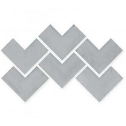 WOW Elle Floor Concrete 18,5x18,5