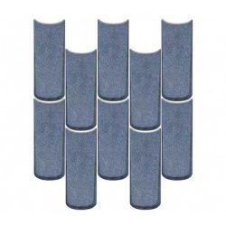 WOW Tear Blue Raku 10x25