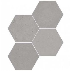 WOW Concrete Hexagon Ash Grey 20x23
