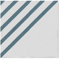 WOW Boreal Dash Decor White Blue 18,5x18,5