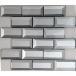 Dell Arte Mozaika BRICK SILVER 30,0 x 30,0
