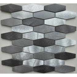 Dell Arte Mozaika HEX SILVER 30,0 x 30,0