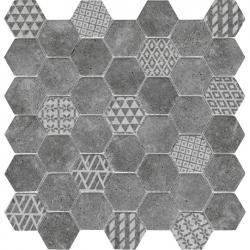 L'Antic Concrete Hive Anthracite 29,5x30x0,6 cm ZAPYTAJ O DODATKOWY RABAT