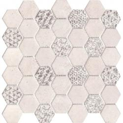 L'Antic Concrete Hive White 29,5x30x0,6 cm ZAPYTAJ O DODATKOWY RABAT