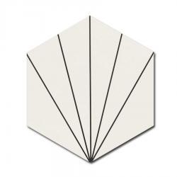 [100888] REALONDA VENUS WHITE 28,5x33,0