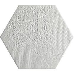 Codicer HEX MILANO WHITE 25 22X25