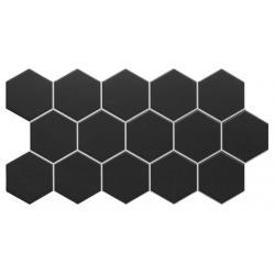 Realonda Hex Black 26,5x51