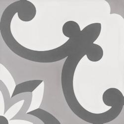 Płytka Gresowa WOW Tradition Decor Grey 2 18,5x18,5