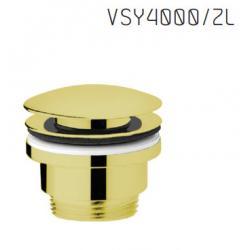 Vedo VSY4000/ZL Korek do umywalki typu klik-klak UNO - Złoty