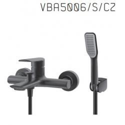 Vedo VBA5006/S/CZ Bateria wannowa z zestawem natryskowym - czarny mat