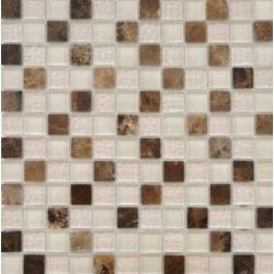 Ceramica  FUMETTO EMPERADOR K. 2.3X2.3 MOZAIKA SZKLANO-KAMIENNA 30X30