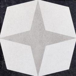 Płytka gresowa Fioranese Cementina B&W_1 20x20