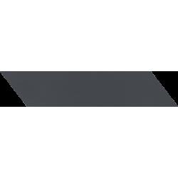 Tubądzin By Maciej Zień - SOPHISTICATED BLACK LEFT LISTWA ŚCIENNA 41,7X9,8