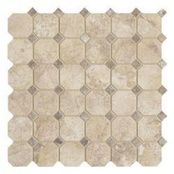 Cisa Royal Marble Moz. Ottagona Almond 33,3x33,3