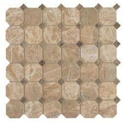 Cisa Royal Marble Moz. Ottagona beige 33,3x33,3