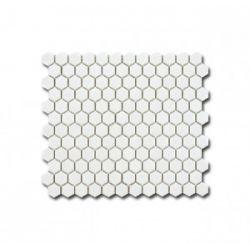 El Casa Mozaika Hexagon Blanco Shine 26x30