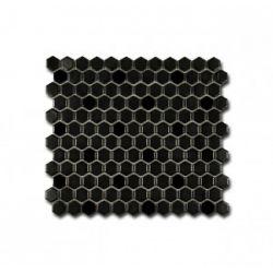 El Casa Mozaika Hexagon Negro Mix 26x30