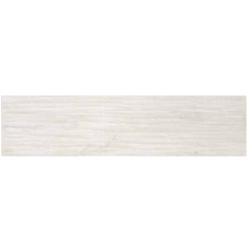 Dom Ceramiche Logwood White 25x100