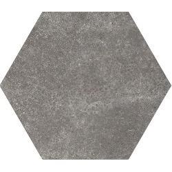 Equipe Hexatile Cement Black 17.5x20