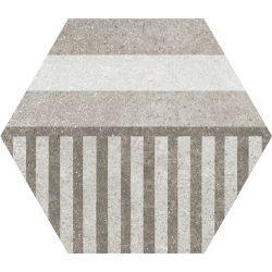 Equipe Hexatile Coment Geo Grey 17.5x20