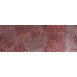 Keros Blod Heart Burdeos Dekor 25x70